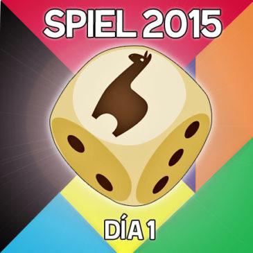 Essen Spiel 2015 – Day 1