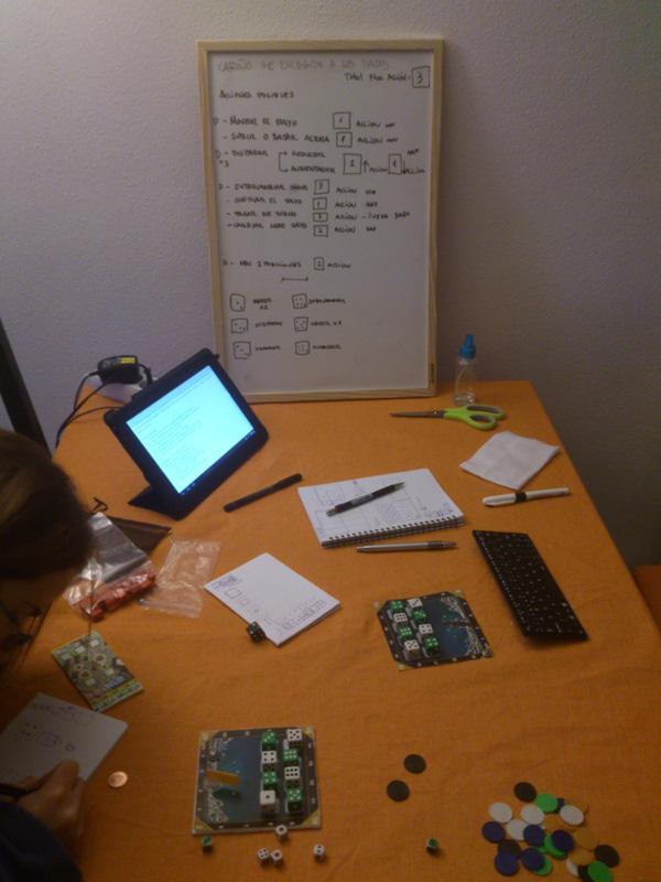 Nuestra primera reunión como un equipo de diseño