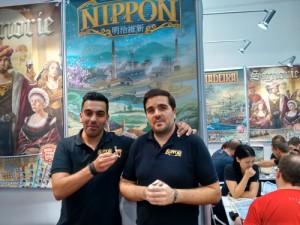 Nuno Bizarro Sentieiro and Paulo Soledadede