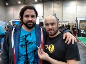Daniel Val y Óscar Arévalo